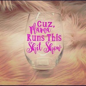 Other - Custom Wineglasses 20oz!